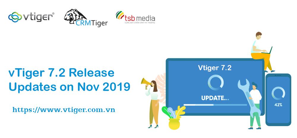 cập nhật vtiger 7.2 mới nhất phiên bản 2019